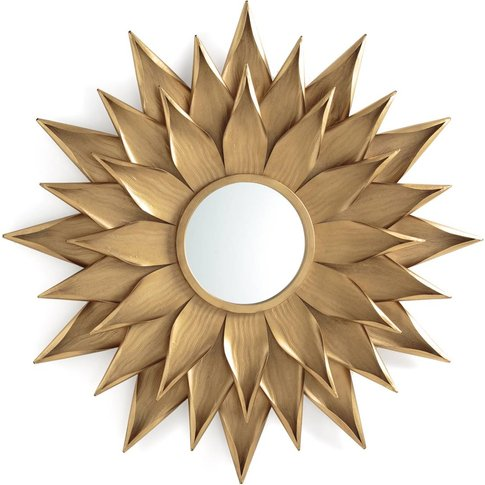 Tylar Sunflower Mirror
