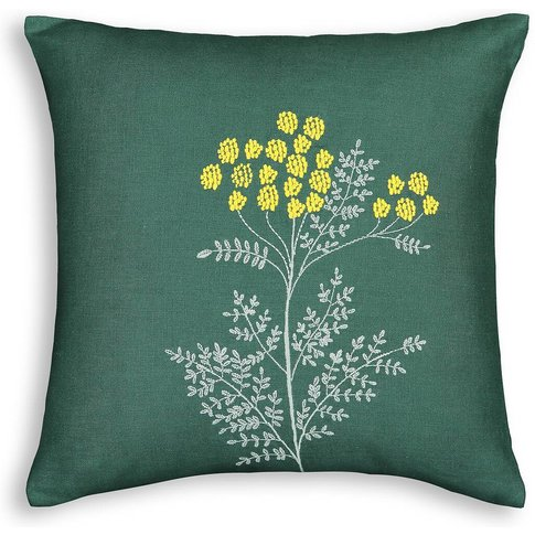 Mireille Embroidered Linen Cushion Cover