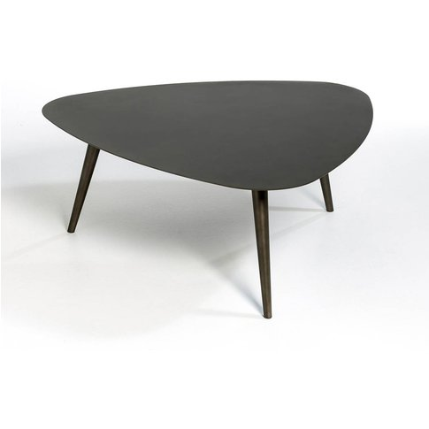Théoleine Small Contemporary Metal Coffee Table