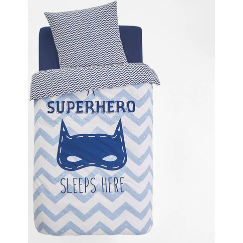 Super Masque Printed Duvet Cover