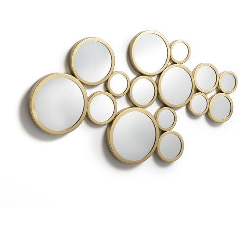 Kancona Retro Metal Bubble Mirror