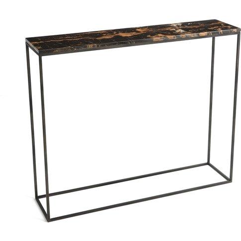 Ambrette Small Marble Console Table