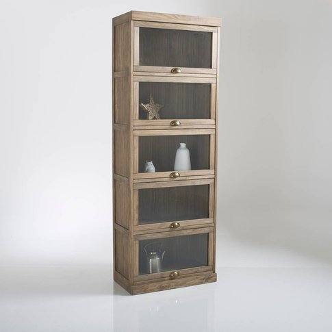 Lunja 5-Door Display Cabinet
