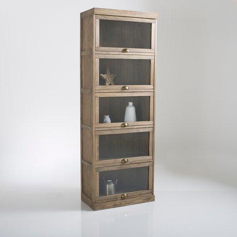 Lunja 5-Door Display Cabinet