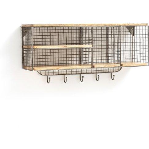 Areglo Coat Hook Wall Shelf