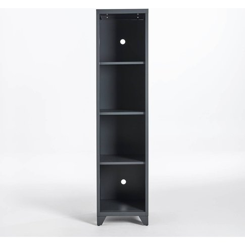 Hiba Metal Storage Unit With 4 Shelves