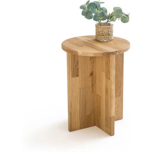 Obadi Side Table In Solid Oak