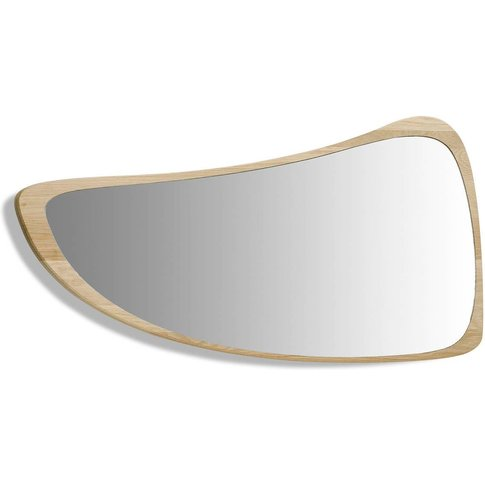 Principe Mirror With Natural Oak Frame