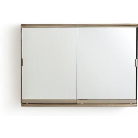 Arimi 2 Sliding Door Mirror Bathroom Cabinet