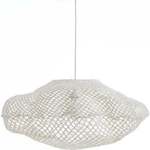 Azeria Woven Paper Cloud-Shaped Ceiling Light