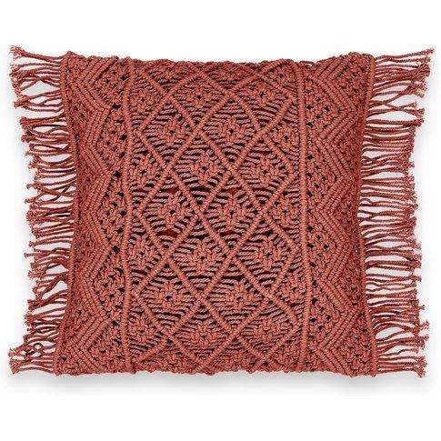Sparta Macramã© Cushion Cover