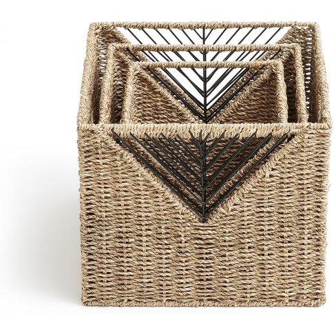 Tressie Set Of 3 Woven Storage Boxes