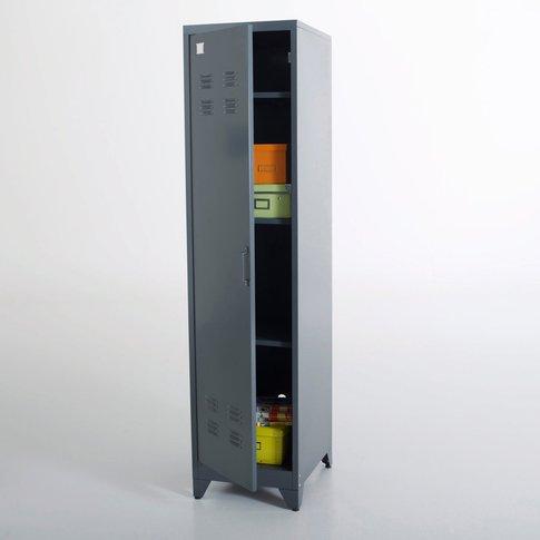 Hiba Metal Locker-Style Storage Unit