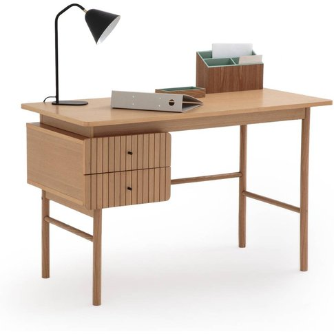 Groove 2-Drawer Desk
