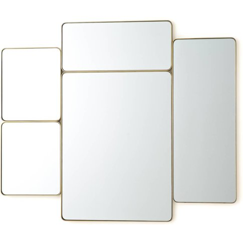 Iodus Vintage-Style Metal Frame Mirror