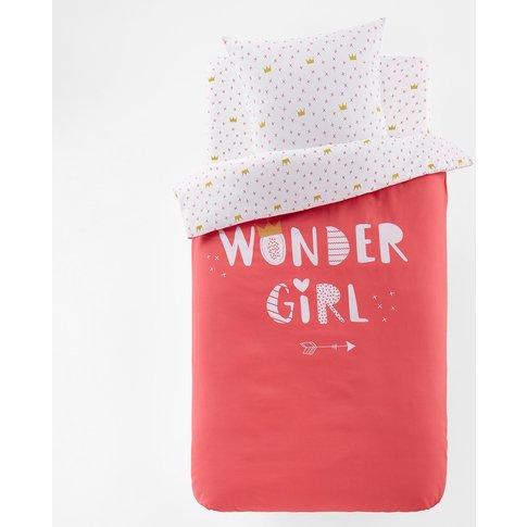 Wonder Girl Printed Duvet Cover
