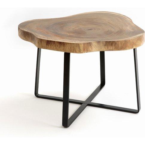 Sicamor Suar Wood Side Table