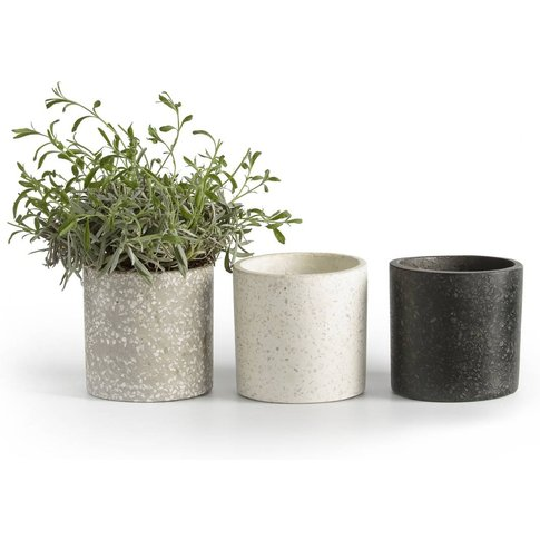 Set Of 3 Boham Terrazo Planters