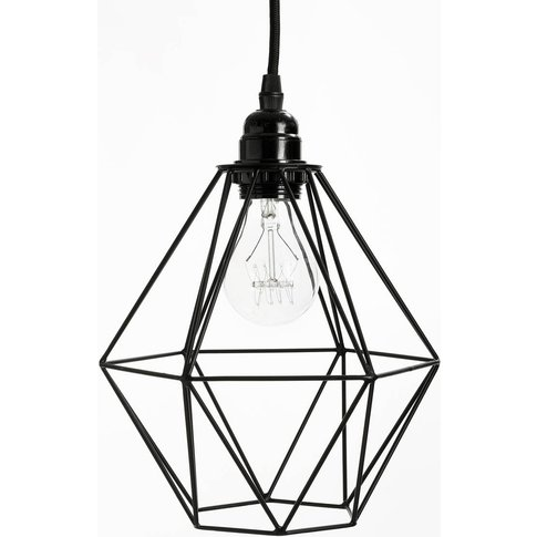 MAKONA Metal Wire Geometric Pendant Shade