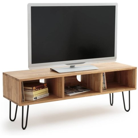 Adza Solid Oak Tv Unit