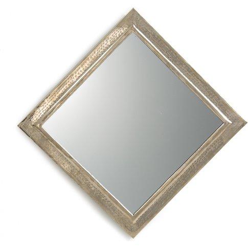 Afira Hammered Metal Moroccan Mirror