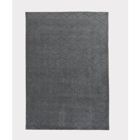 Falke Pure Wool Rug with a 3D Effect