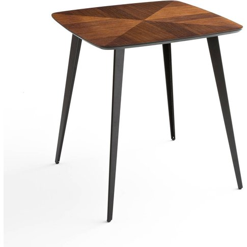 Watford Bistro-Style Inlaid Dining Table, Seats 2