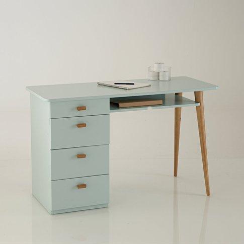 Jimi 4 Drawer Pine Desk