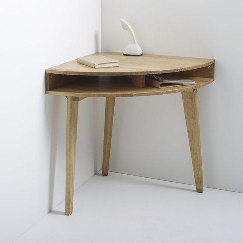 Grimsby Retro-Style Corner Console Desk