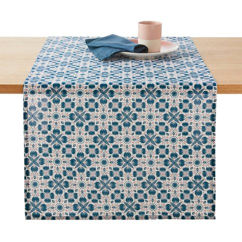 ACONIE Printed Cotton Table Runner