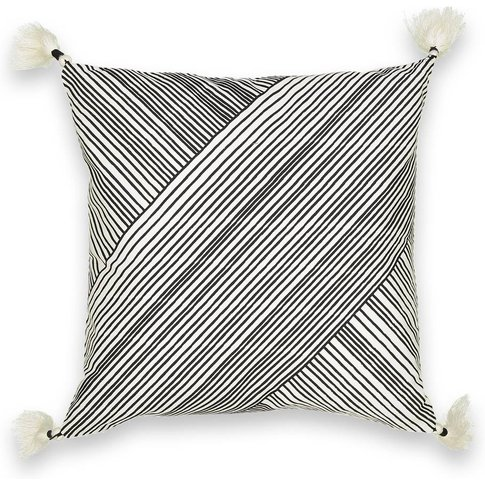 Striate Cushion Cover