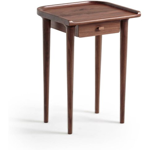 Magosia Bedside Table in Solid Walnut
