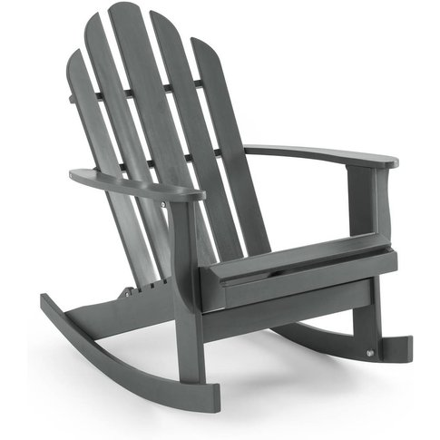 THÉODORE Adirondack Style Rocking Chair