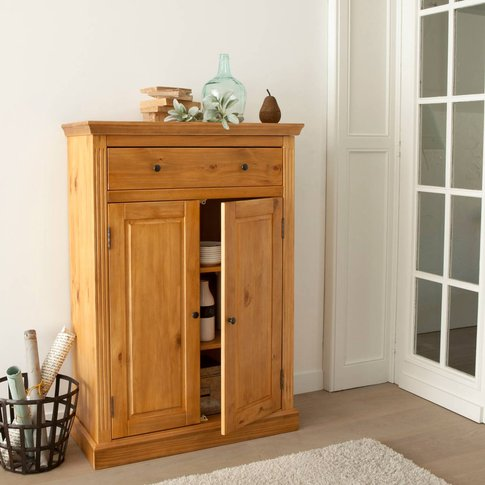 Authentic Style Parisian Style Pine Sideboard