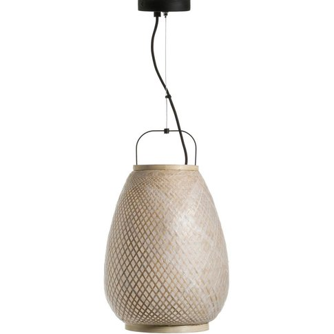Titouan Bamboo & Rice Paper Ceiling Light, By E. Gal...