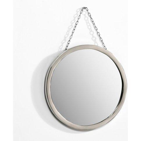 Barbier Round Mirror, Diameter 30cm