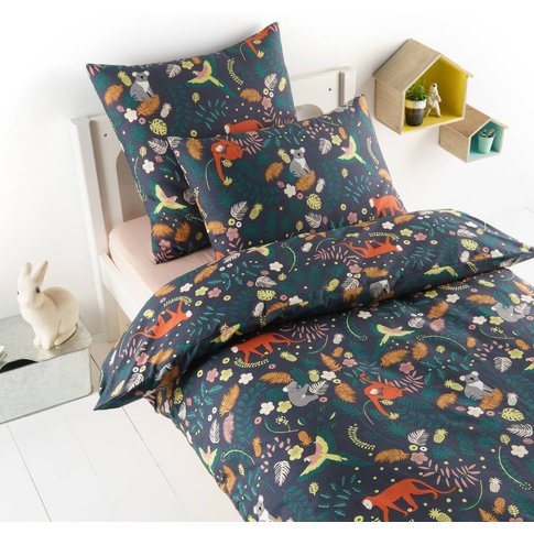 Jangal Pre-Washed Percale Duvet Cover