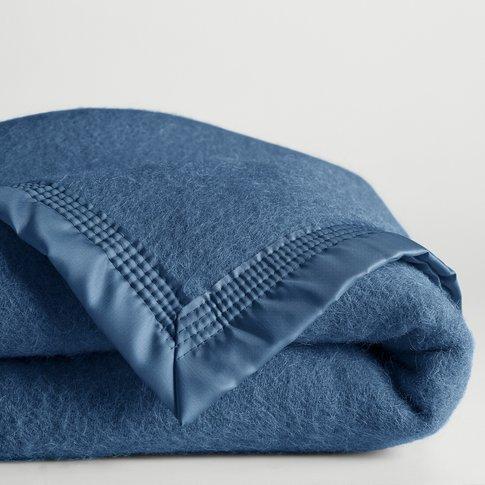 Woolmark Pure New Wool Blanket, 350g/Mâ²