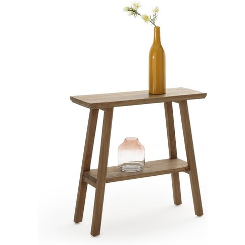 Asayo Solid Elm Console Table