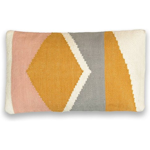 CHILLAN Graphic Cotton Cushion Cover
