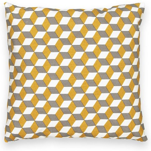 Decio Cotton Geometric Cushion Cover