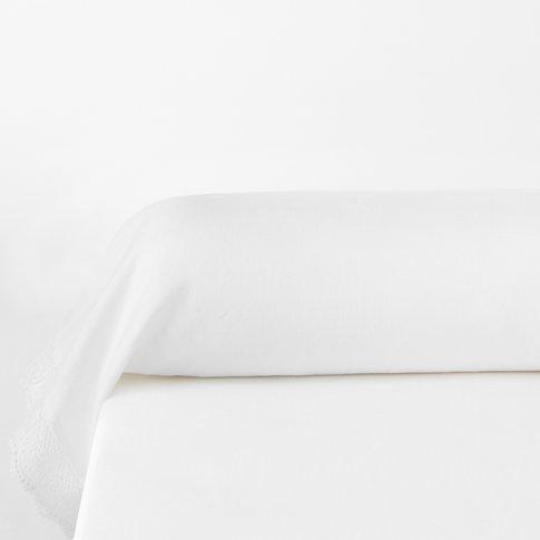 Billie Blanket Linen Bolster Pillowcase