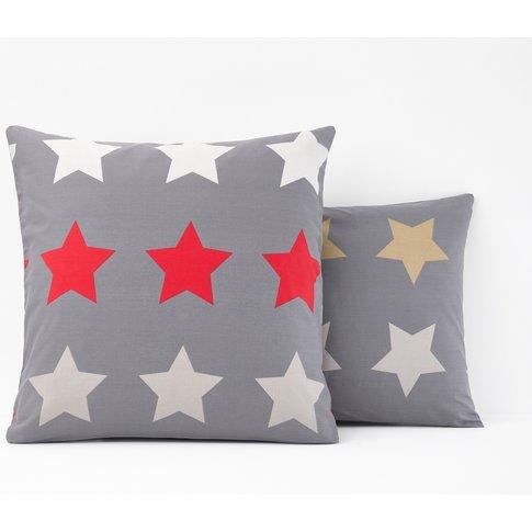 Stars Printed Single Pillowcase