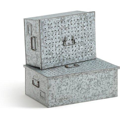 Loupi Set of 2 Storage Boxes