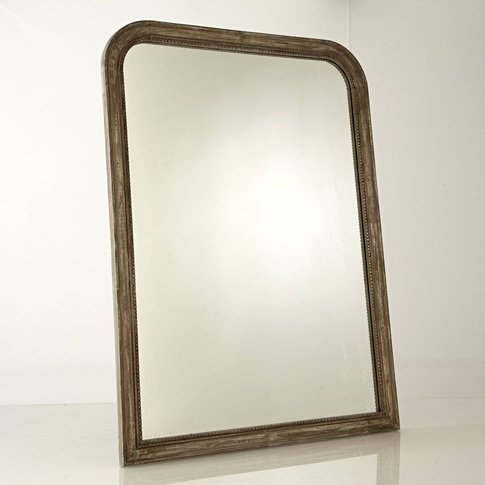 Afsan Solid Mango Wood Mirror