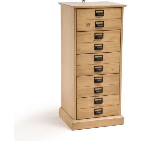 Lindley Solid Pine 5-Drawer Sideboard