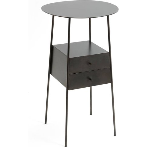 Osasun Metal Bedside Table