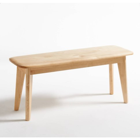 JIMI Scandi-Style Solid Birch Bench