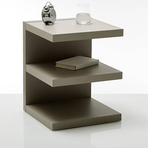Ylex E-Shape Bedside Table