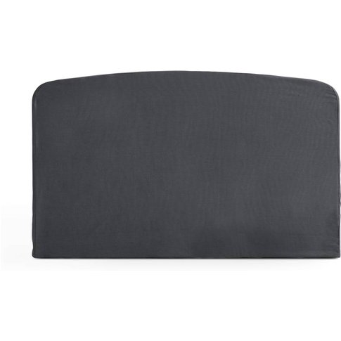 Curved 100% Cotton Headboard Cover